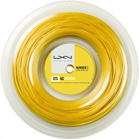 Bobine cordage Luxilon 4G Rough 125 (200 mètres - 1.25mm)