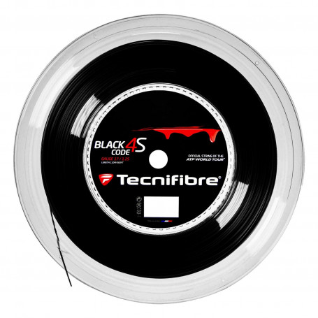 Tennis strings Tecnifibre Black Code reel| Mytennislab.com