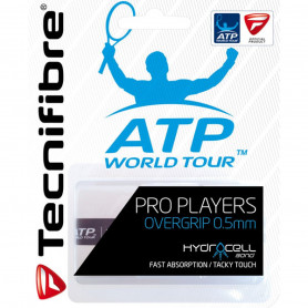 Surgrip tennis Technifibre Pro Players ATP - Blanc - Pack de 3 | Mytennislab.com