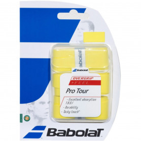 Overgrip tennis Babolat Pro Tour - Yellow (Blister of 3)