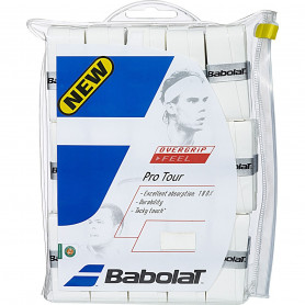 Overgrip tennis Babolat Pro Tour - White (Blister of 30)