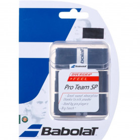 Surgrip tennis Babolat Pro Team SP - Noir (Pack de 3)