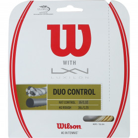 Tennis strings hybrid Wilson Duo Control