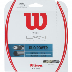 Tennis strings hybrid Wilson Duo Power