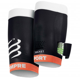 Compressport Compression Quad Black - Racket