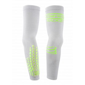 Compressport Elbow Silicon Armforce  - White - Racket