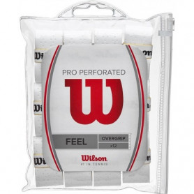Overgrip tennis Wilson Pro Perforated (Blister of 12)